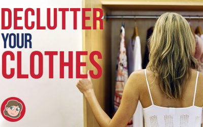Divide and Conquer to Declutter Your Clothes