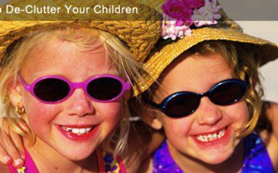 How To De-Clutter Your Children