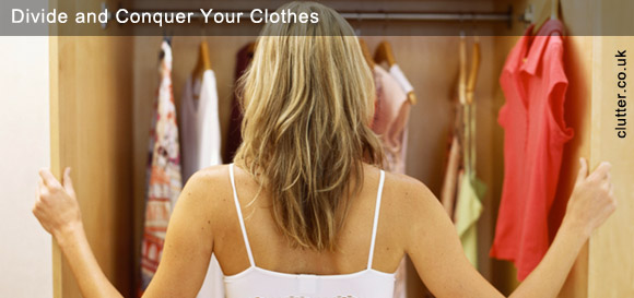Divide and Conquer Your Clothes
