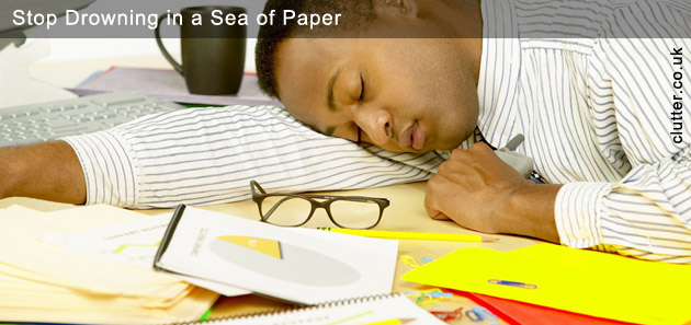 Stop Drowning in a Sea of Paper
