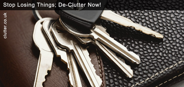 Stop Losing Things De-Clutter Now