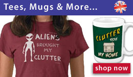 Tees, Mugs and More - Clutter Shop (UK)