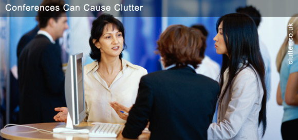 Conferences Can Cause Clutter