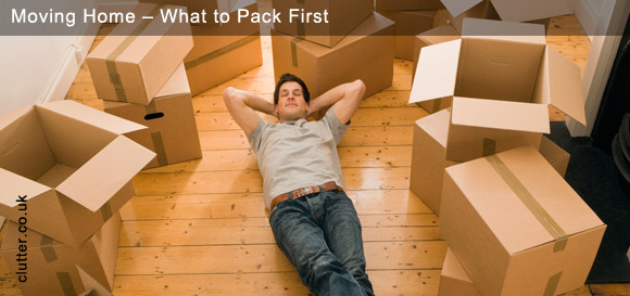 Moving Home – What to Pack First