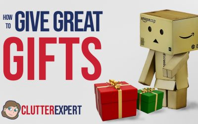 How to Give Presents That Don't Become Clutter
