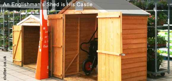 An Englishman's Shed is His Castle